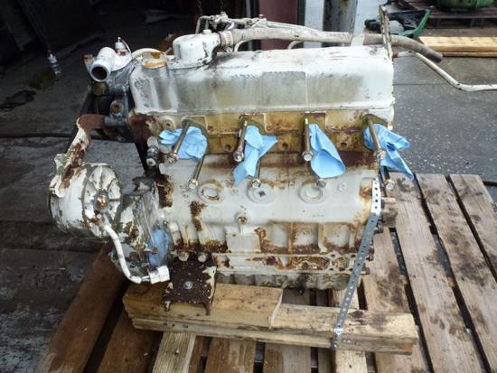 Picture of Yanmar 4JHLT-K Marine Diesel Engine 4 Cylinder 1.644 Liter