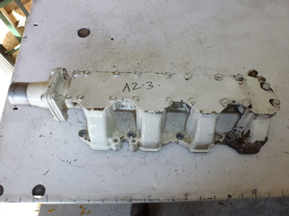 Picture of Intake Manifold to Yanmar 4JHLT-K Marine Diesel Engine