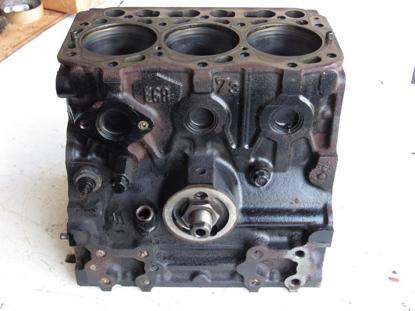 Picture of John Deere AM880137 Cylinder Block Crankcase Yanmar 3TNE68C Diesel Engine 2500E 2500A 2500 Mower 3TNE68