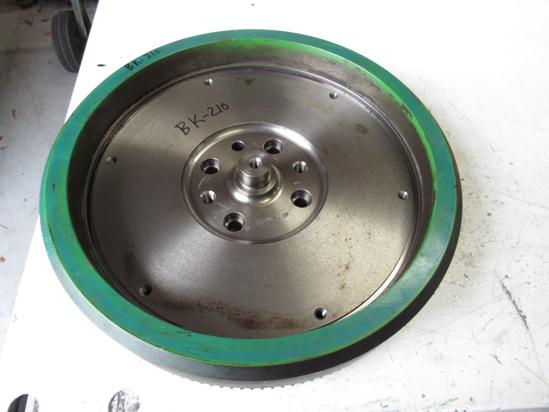 Picture of John Deere RE53714 Flywheel w/ Ring Gear RE64497