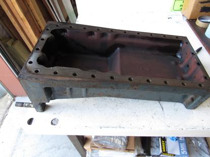 Picture of Kubota 17381-01610 Oil Pan 17125-01610