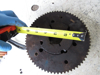 Picture of Hydraulic Pump Belt Drive Pulley Sprocket off Princeton Teledyne Forklift
