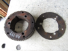 Picture of Hydraulic Pump Belt Drive Pulley Sprocket off Princeton Teledyne Forklift w/ D1105 Kubota Flywheel