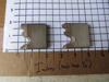 "Picture of Pair Moulder Blades Bits Knives 5/16"" Corrugated Back Shaper Router Planer Molder Profile Blade Knife Bit Trim Base Crown"