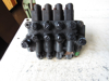 Picture of 4 Spool Hydraulic Valve off Princeton Teledyne Piggyback Forklift