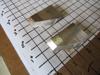 "Picture of Pair 60 Degree Moulder Blades Bits Knives 5/16"" Corrugated Back Shaper Router Planer Molder Profile Blade Knife Bit Trim Base Crown Chair Rail"
