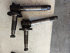 Picture of 2 Allis Chalmers 72089232 72089233 LH RH Left Right Spindles to 5040 Tractor Agco AC
