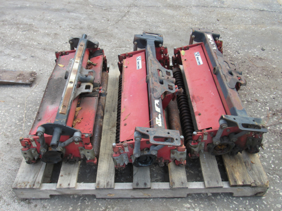 "Picture of Set of 3 Toro 03211 Reels Cutting Units 27"" 3100D Reelmaster Mower"