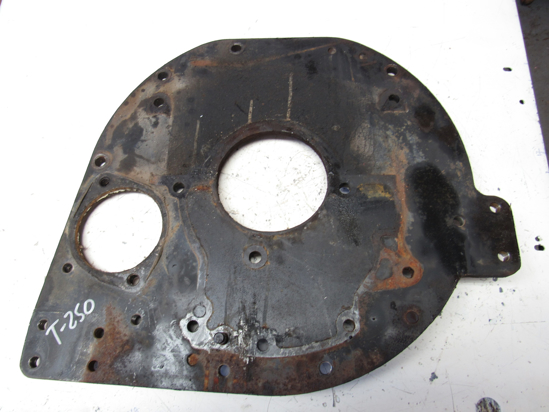 Picture of Massey Ferguson 3706519M1 Rear Engine Bell Housing Plate 1160 Tractor w/ Isuzu 4JC1