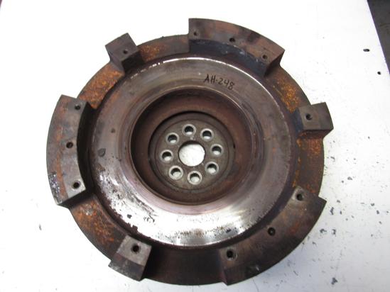 Picture of Massey Ferguson 3706521M91 Flywheel w/ Ring Gear 1160 Tractor w/ Isuzu 4JC1