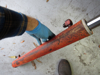 Picture of Kubota 75554-64010 Hydraulic Bucket Tilt Cylinder to LA680 Front Loader 75554-64110