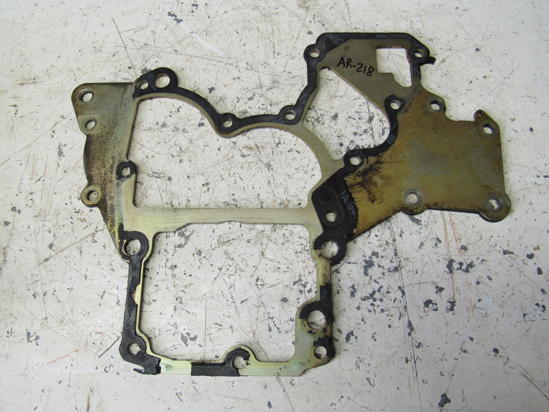 Picture of Massey Ferguson 4265565M1 Front Timing Gear Plate off Iseki 3ICLL1.12B3G