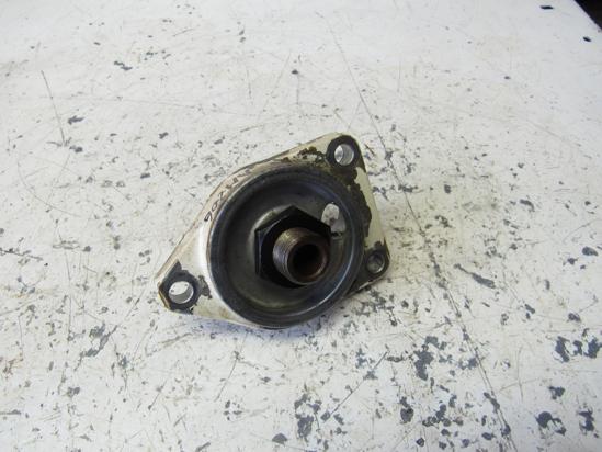 Picture of Oil Filter Adapter Head Fitting off Yanmar 4JHLT-K Marine Diesel Engine