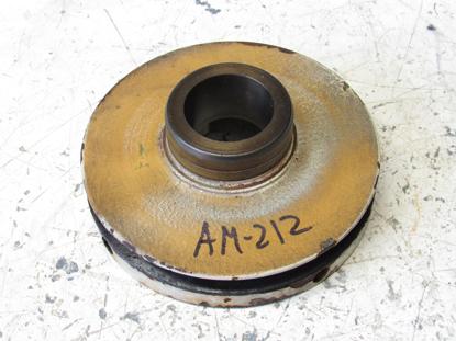 Picture of Crankshaft Pulley off Yanmar 4JHLT-K Marine Diesel Engine