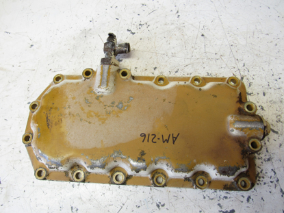 Picture of Oil Pan Sump Lower Cover off Yanmar 4JHLT-K Marine Diesel Engine