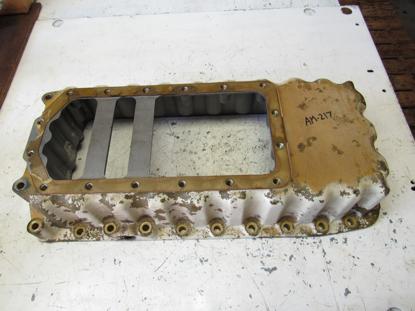 Picture of Oil Pan Sump off Yanmar 4JHLT-K Marine Diesel Engine