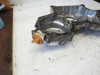 Picture of Front Timing Gearcase Cover off Yanmar 4JHLT-K Marine Diesel Engine