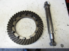 Picture of JI Case IH David Brown K964879 Differential Ring & Pinion Gear Shaft Set 7-43T