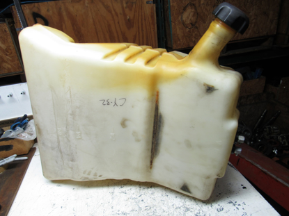 Picture of Toro 132-7560 Fuel Tank 132-5110