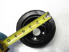 Picture of Kubota 17365-74252 Water Pump Fan Drive Pulley off V2607-CR-T-EF08 17365-74250