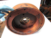 Picture of Kubota 1J552-25010 Flywheel w/ Ring Gear off V3800-CR-TI-EV13 1J552-2501 1J552-2511
