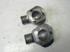 Picture of Kubota 1E484-73260 Thermostat Cover Water Flange off V3800-CR-TI-EV13 1G565-73260