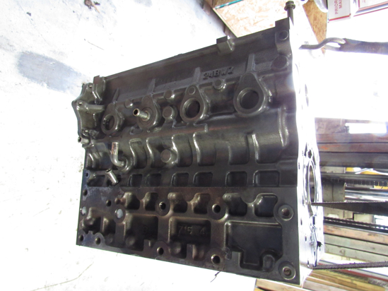 Picture of Kubota 1J803-01013 Cylinder Block Crankcase to certain V2403-CR engine