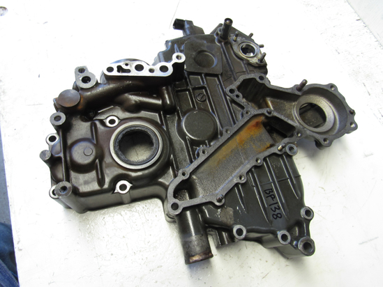 Picture of Kubota 1A091-04024 Gear Case Timing Cover to certain V2403-M-T engine 1A091-04023 1A091-04022