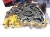 Picture of Caterpillar Cat 437-2562 Flywheel Bell Housing to certain C3.3B engine 345-3550 Kubota 1J770-0461 V3307