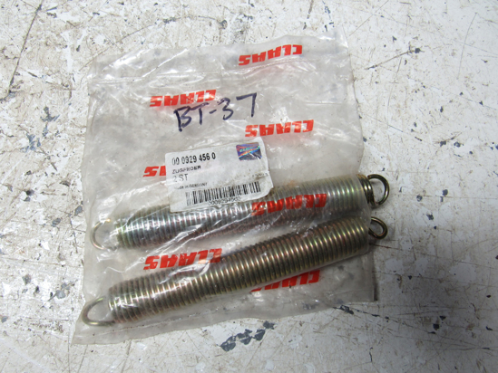 Picture of 2 Claas 0009294560 9294560 929456.0 Springs