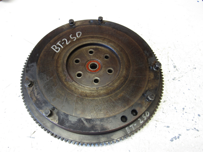 Picture of Flywheel & Ring Gear off 1982 Ford 172 Diesel E2JL6015AA Engine off Ditch Witch R40 Trencher