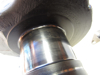 Picture of Crankshaft B9NN6302B off 1982 Ford 172 Diesel in Ditch Witch R40 Trencher