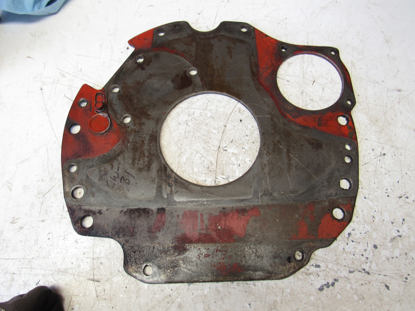Picture of Flywheel Bell Housing Plate off 1982 Ford 172 Diesel in Ditch Witch R40 Trencher