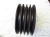"""Picture of 4 Groove Pulley 185mm 7-5/16"""" for about 35mm keyway shaft by 3-3/16"""