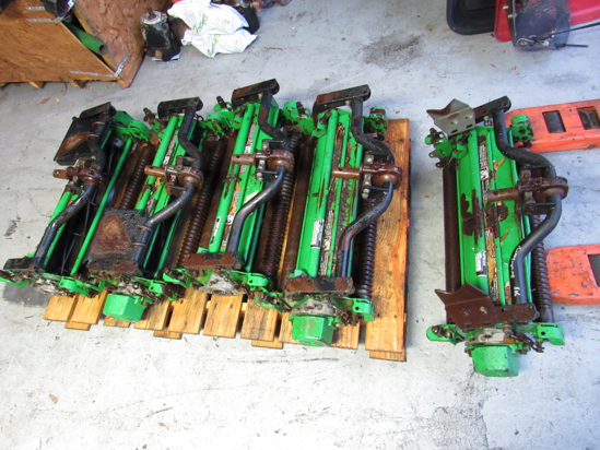 """Picture of Set of 5 John Deere 22"""" x5"""" Reels 3235C 3225C 3235B 3225B Fairway Mower"""