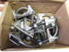 """Picture of 10) Unused Old Stock 2"""" x 3/8 Heavy Duty Muffler Clamps Imperial 71654"""