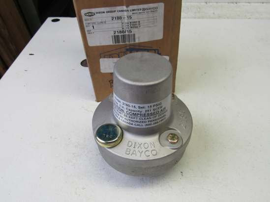 """Picture of Unused Old Stock Dixon 2180-15 Air Relief Valve 2"""""""