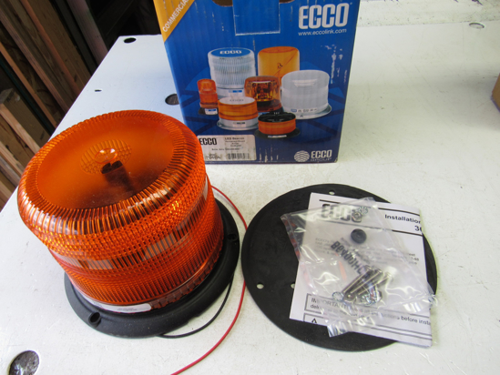 Picture of Unused Old Stock Ecco 7945A LED Beacon Amber