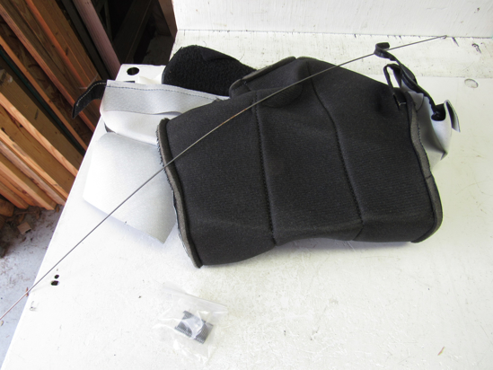 Picture of Unused Old Stock Mack 800-6235122G08 6235122G-08 Seat Cover Gray