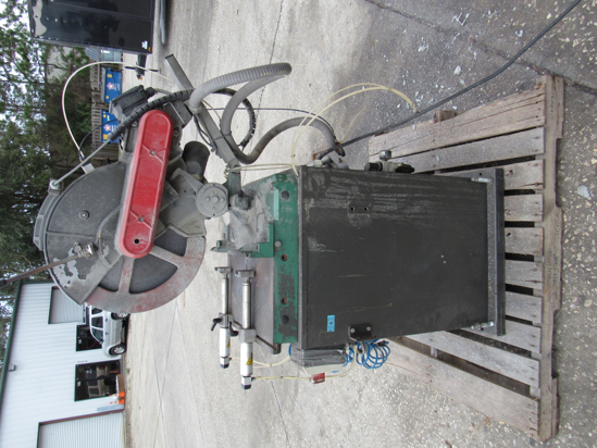 "Picture of Pro-Line SD17MS 16"" Manual Compound Miter Saw for Aluminum Vinyl Fiberglass other Non-ferrous"
