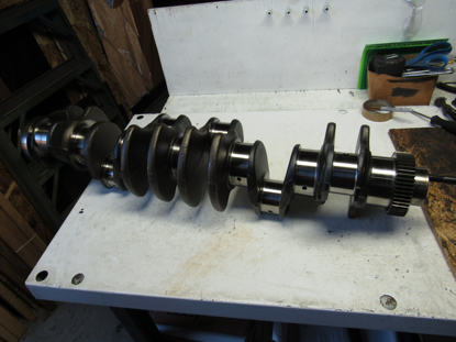 Picture of Cat Caterpiller 489-2731 Crankshaft to certain 3126 Engine 4892731
