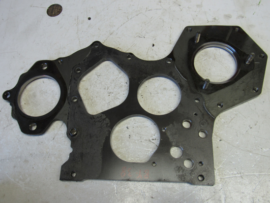 Picture of Timing Cover Plate off Yanmar 4TNV88-BDSA2 Diesel Engine