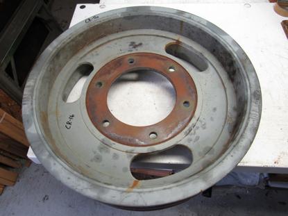 Picture of Claas Jaguar 900 V Belt Pulley 7 Groove 0009878640 9878640 987864.0 1918891