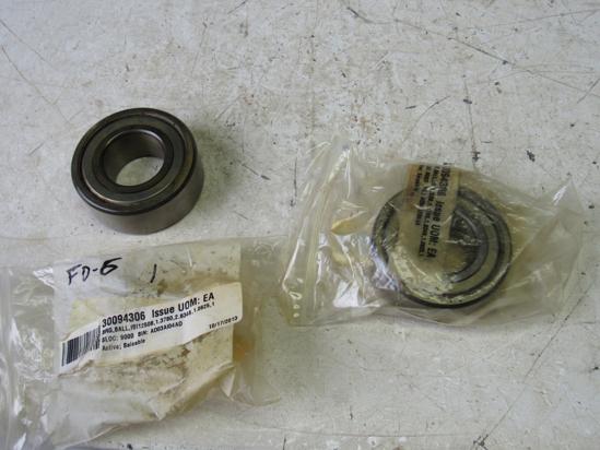 Picture of 2 Unused Old Stock NTN 63207Z Bearings