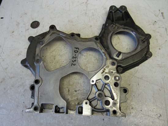 Picture of Gearcase Timing Cover Plate off Yanmar 4TNE86-ETK Thermo King TK486E