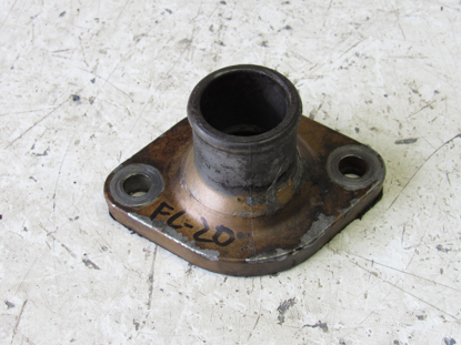 Picture of Thermostat Cover Flange Fitting off Yanmar 4TNE86 Thermo King TK486EH