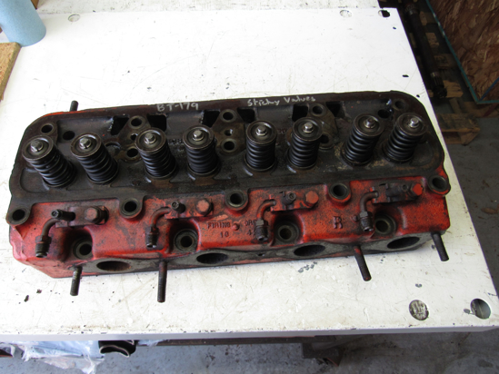 Picture of JI Case A37856 Cylinder Head w/ Valves A37835