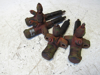 Picture of 4 JI Case A49056 Fuel Injector Nozzles Caps FOR PARTS A35085