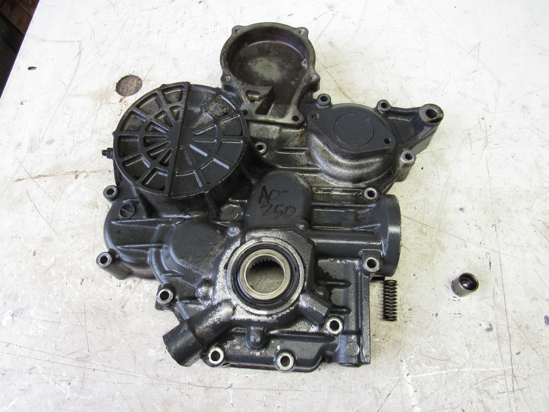 Picture of Gearcase Timing Cover off 2005 Kubota D1105-T-ES Toro 108-1402