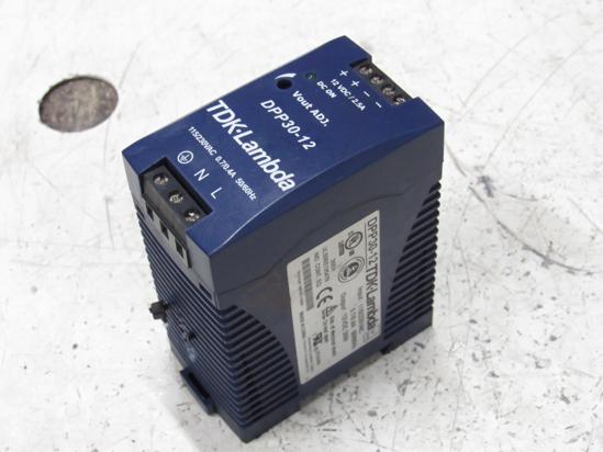 Picture of TDK-Lambda DPP30-12 Converter Power Supply 115/230VAC to 12VDC 30W